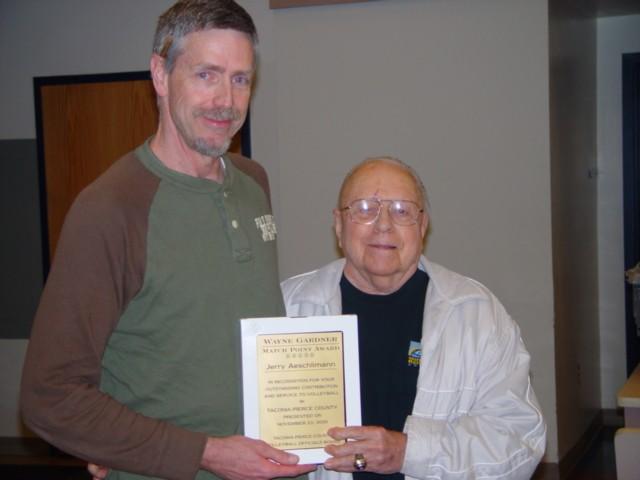 2005 Wayne Gardner Award – Jerry Aeschlimann