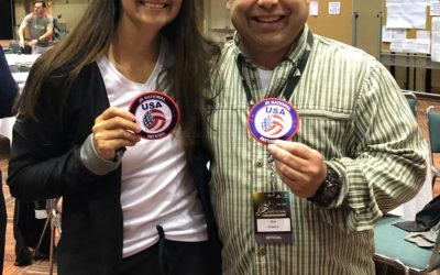Kyleen and Gui Earn New Badges!