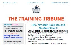 The Training Tribune #4