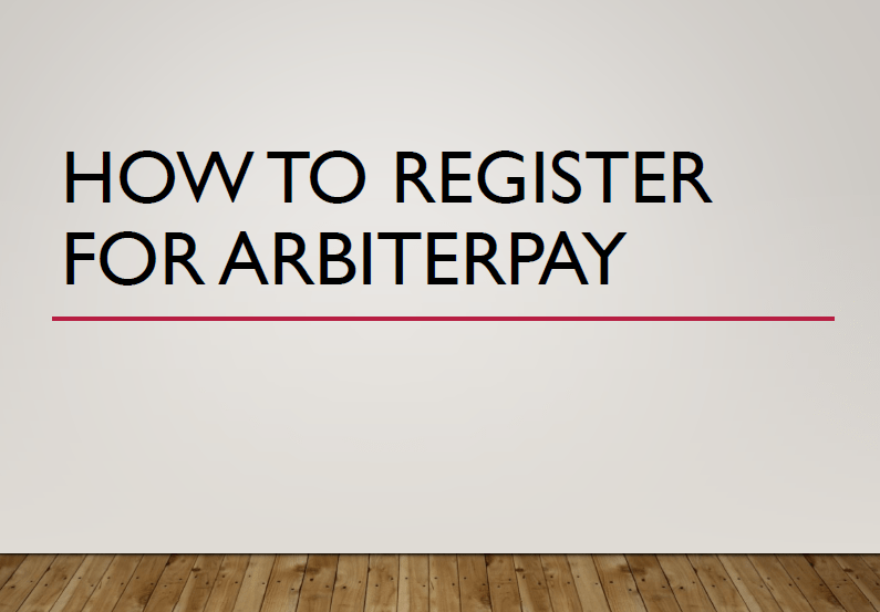 ArbiterPay Setup Instructions